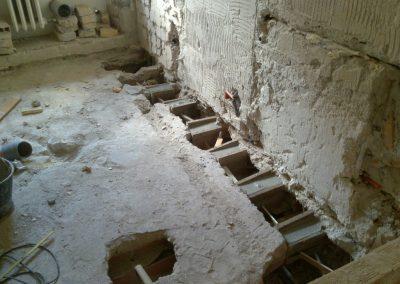 ricostruzione travetti